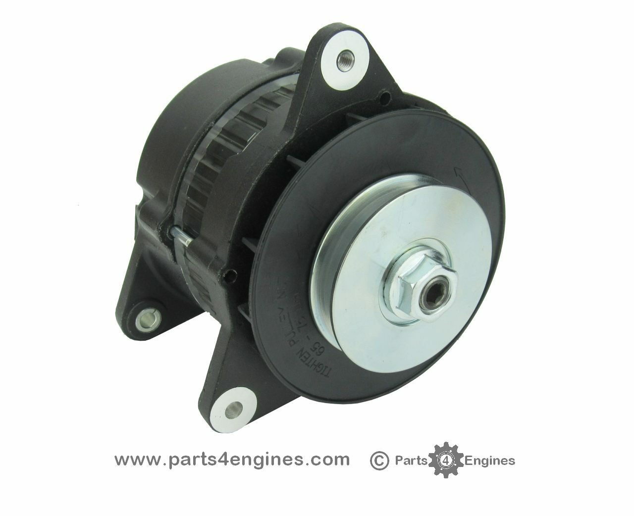 Perkins 4.108 Alternator high output isolated earth 90A from Parts4Engines.com