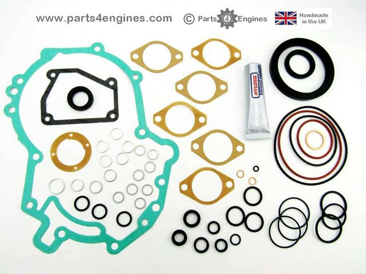 Volvo Penta 2002 bottom gasket & seal set from parts4engines.com