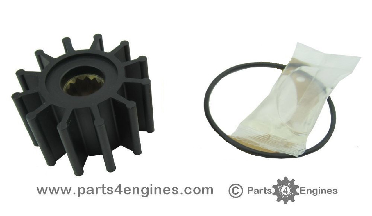 Volvo Penta D2-55 Raw water pump impeller kit - parts4engines.com