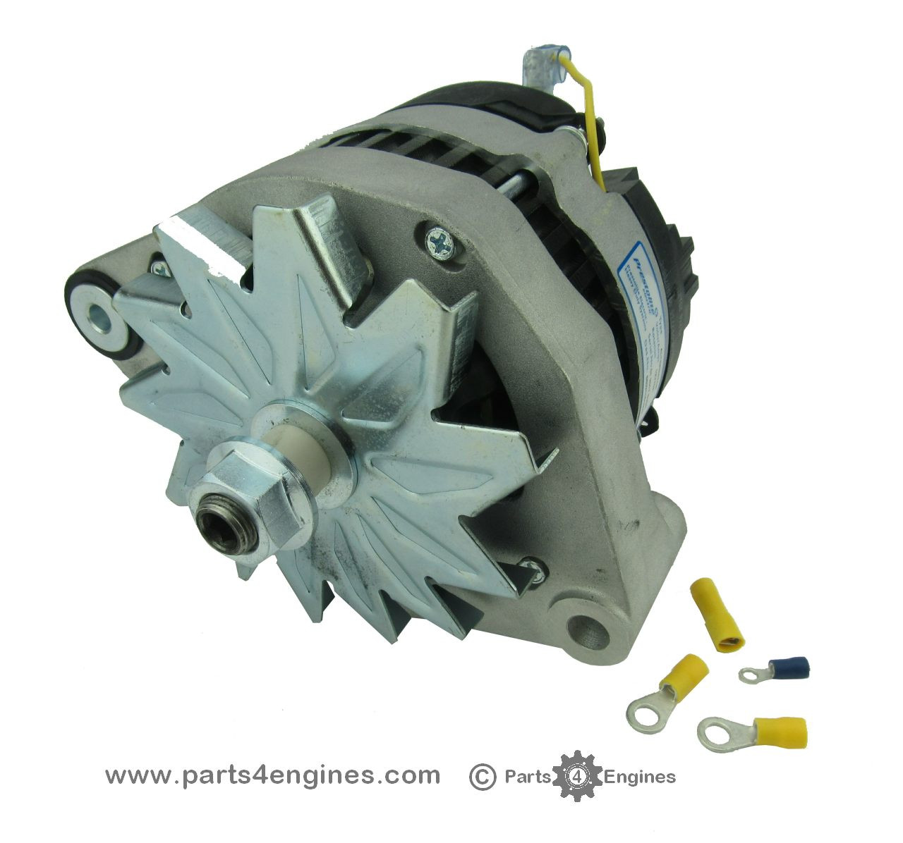 Volvo Penta Md2020 Isolated Earth Alternator