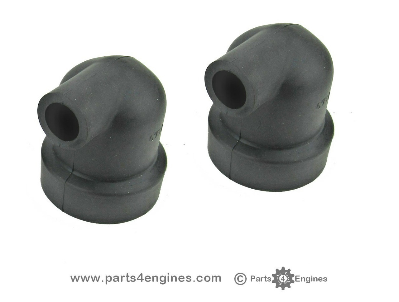 Volvo Penta MD2020 heat exchanger end caps - parts4engines.com