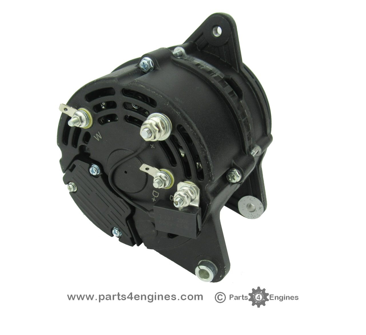 Perkins 4.236 90A high output (isolated earth) alternator from Parts4Engines.com
