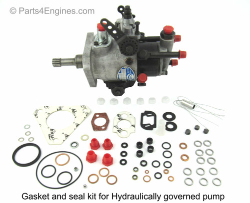 Perkins 4.236 Gasket & Seal Kit for Hydraulic Governed Injection Pump from parts4engines.com
