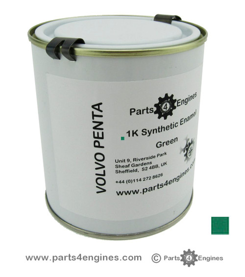 Volvo Penta Enamel Engine Paint 1/2 Litre - parts4engines.com