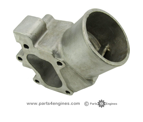 Volvo Penta D2-75 Stainless Steel Exhaust outlet elbow from parts4engines.com