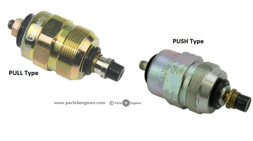 Perkins Prima M80T stop solenoid PULL & PUSH - parts4engines.com