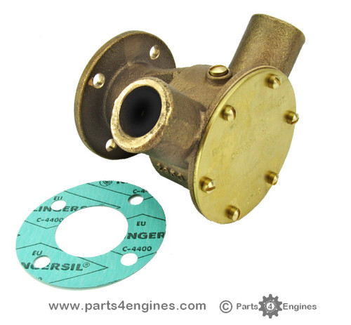 Perkins Prima M50 Jabsco raw water pump - parts4engines.com