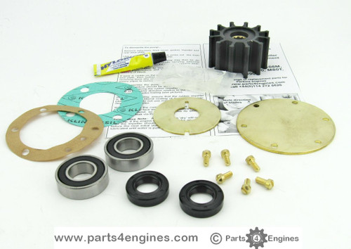 Perkins Prima M50 Raw water pump impeller & service kits - parts4engines.com