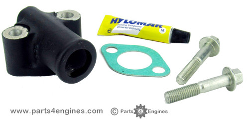 Perkins Prima M80T exhaust elbow connector kit from parts4engines.com