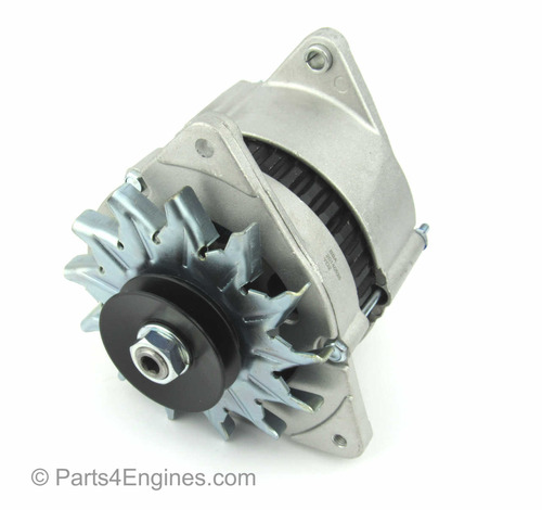 70amp Alternator (right) - Perkins Prima M80T Alternator from parts4engines.com