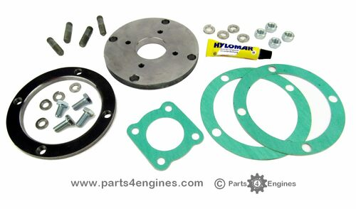 Perkins 4.108 Jabsco raw water pump mounting kit from parts4engines.com