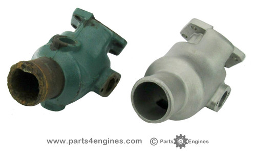 Volvo Penta D2-55 Exhaust manifold outlet from parts4engines.com