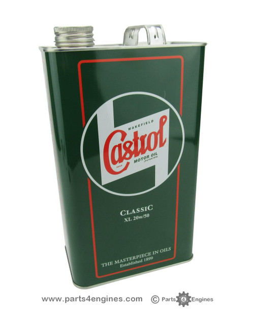 Castrol classic XL 20w / 50 engine oil from parts4engines.com