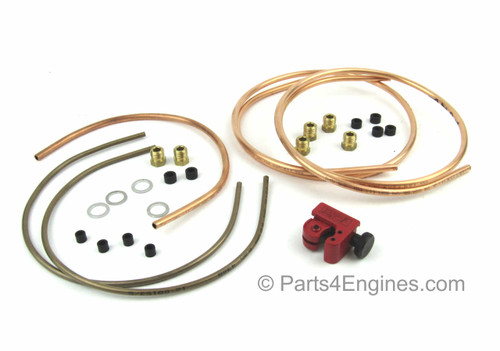 Perkins 4.108 Fuel Pipe kit from parts4engines.com