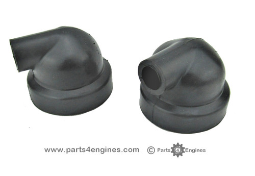 Perkins Perama M25 Heat exchanger end cover caps
