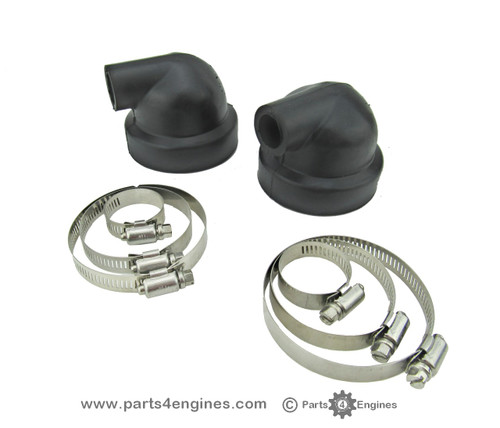 Perkins Perama M30 Heat exchanger end cover caps