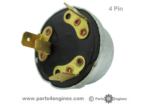 4 pin switch - Perkins 4.99 ignition switch from parts4engines.com