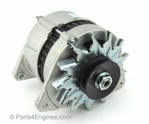 (left) - Perkins 4.107 Alternator 12V 70 amp from parts4engines.com
