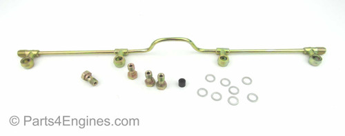 Perkins 4.236 injector leak-off rail from parts4engines.com