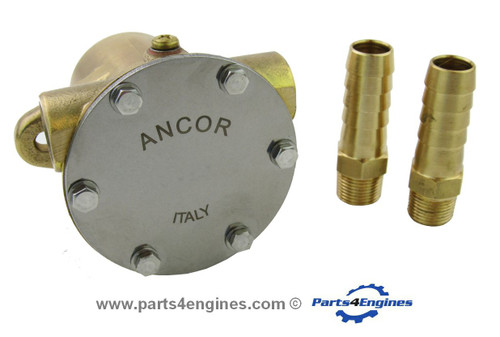 Yanmar 3GM30F Raw water pump - parts4engines.com