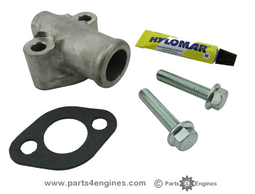 Volvo Penta D2-55 exhaust elbow connector kit - parts4engines.com