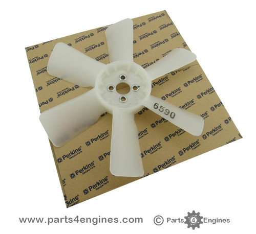 Perkins 400 series engine cooling fan, from parts4engines.com