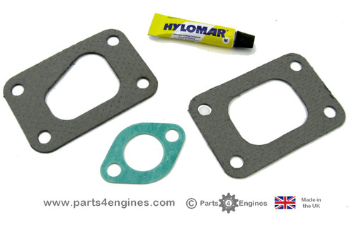 Volvo Penta D2-55 Exhaust outlet gasket kit, fromparts4engines.com