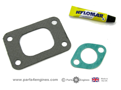 Volvo Penta D2-55 Exhaust outlet gasket kit,  versions A to B
