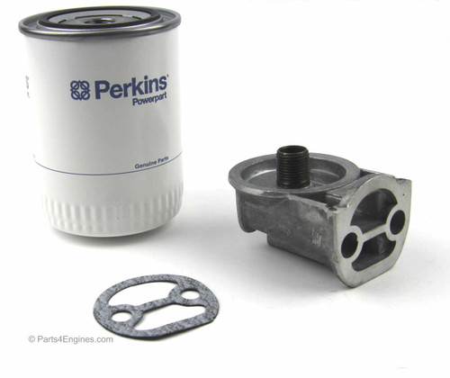 Perkins 3.152 Oil Filter Conversion kit from parts4engines.com