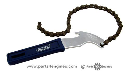 Oil filter chain wrench, from parts4engines.com