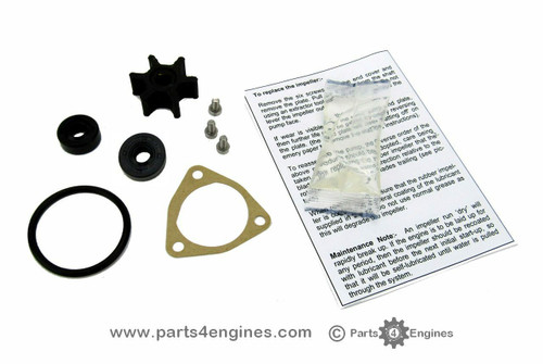 Yanmar 1GM10 Raw water pump service kit