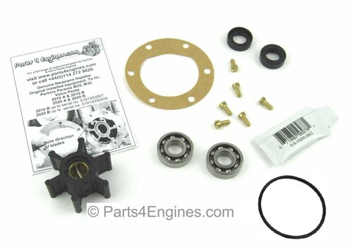 Perkins Perama M35 raw water pump rebuild kit - parts4engines.com