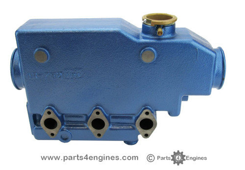 Perkins Perama M25 heat exchanger casing, from parts4engines.com