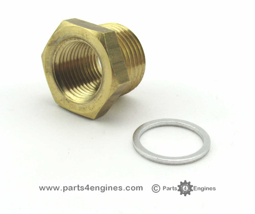 Perkins M90 Temperature Sender Adapter - parts4engines.com