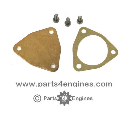 Yanmar 1GM10 Raw water pump End Cover kit - parts4engines.com