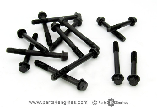 Volvo Penta MD2010 cylinder head bolt Set - parts4engines.com