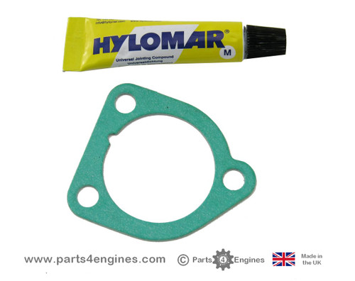 Perkins 100 thermostat housing gasket,from parts4engines.com