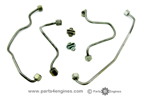 Perkins 4.108 Injector pipe set (used) to fit mechanically governed pump,from, parts4engines.com
