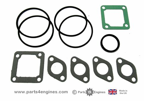 Volvo Penta D2-55 & D2-55B heat exchanger seal replacement kit, from parts4engines.com