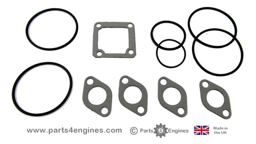 Volvo Penta D2-55C, D2-55D & D2-55F heat exchanger seal replacement kit, from parts4engines.com
