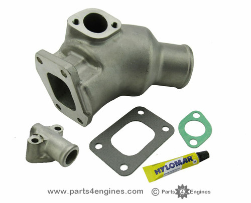 Volvo Penta MD22 Exhaust manifold outlet from parts4engines.com