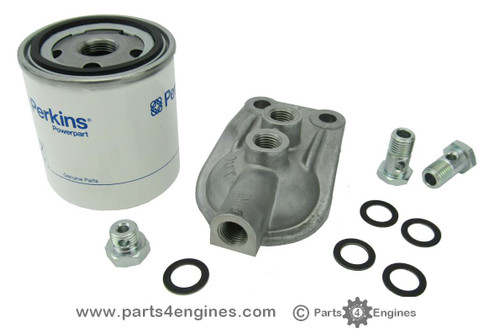 Perkins M30 Fuel filter assembly, from parts4engines.com