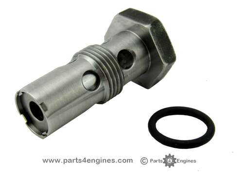 Perkins M25 Oil pressure relief valve, from parts4engines.com