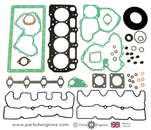 Perkins 404C-15 and 404D-15 Complete gasket and seal set, from parts4engines.com