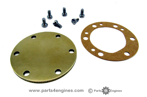 Yanmar 3GM30 Raw water pump end cover kit, from parts4engines.com