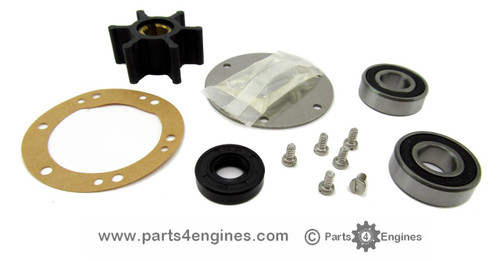Yanmar 3GM30F Raw water pump rebuild kit - parts4engines.com
