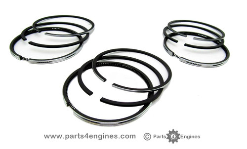 Yanmar 3GM Piston ring set, from Parts4engines.com