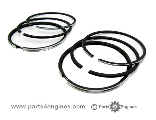 Yanmar 2GM Piston ring set, from Parts4engines.com