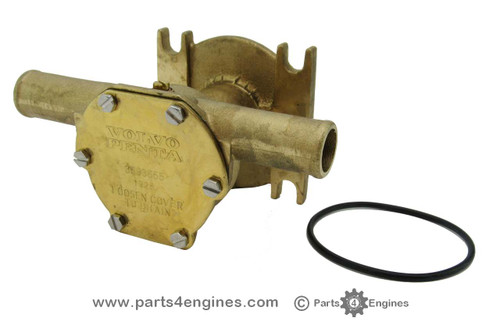 Volvo Penta MD2040 A to D Raw water pump, from parts4engines.com