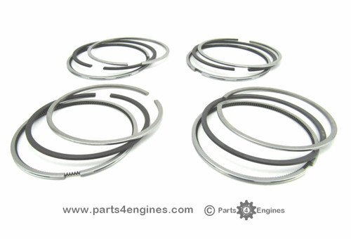 Volvo Penta D2-55 Piston ring set, from parts4engines.com